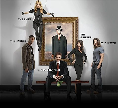 Leverage stealing the apple out of a painting......just cause their that good :)