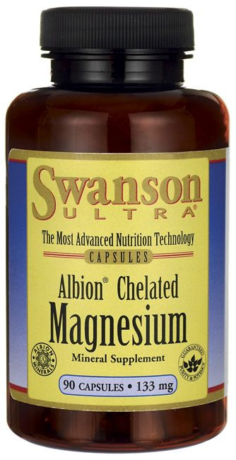 Albion Chelated Magnesium Glycinate - for muscle cramps