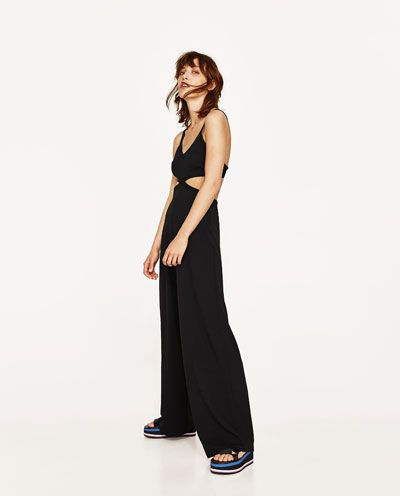 CUT OUT JUMPSUIT-NEW IN-WOMAN | ZARA United Kingdom