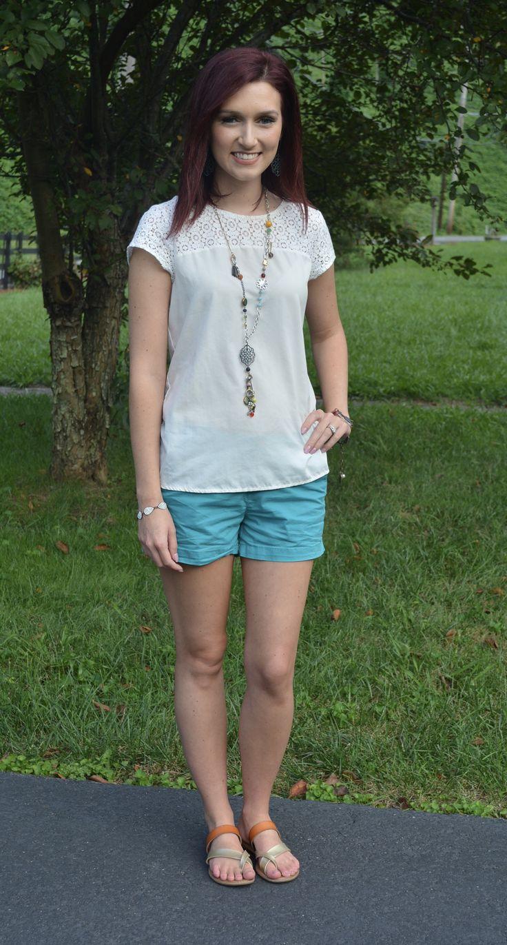 pimpandhost camydreams Teal Shorts for Summer