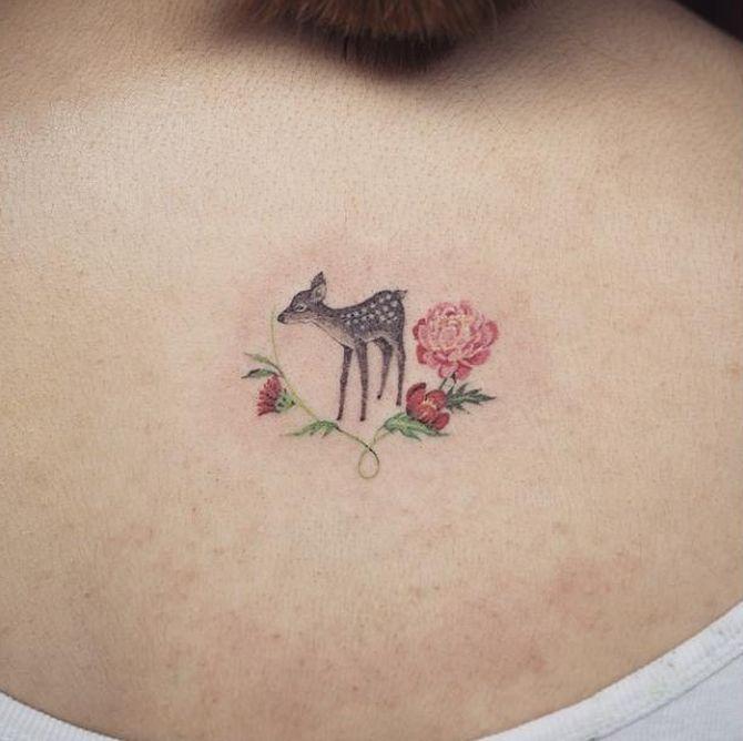 Minimalist Tattoo Done At Sol Tattoo Parlor, South Korea 20