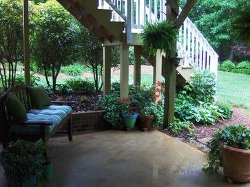 under deck landscaping | Landscaping A Deck Design Ideas, Pictures, Remodel, and Decor