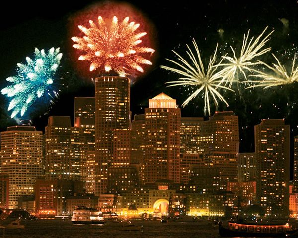 Perhaps the best well known celebration on the 4th of July is right here in Boston where an elaborate fireworks show and performance by the Boston Pops is a mainstay as a fun family event