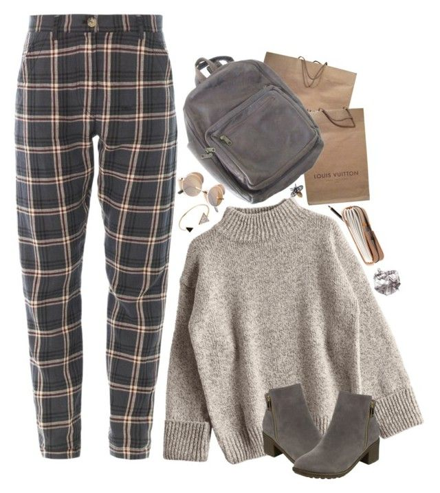 """""""Louis"""" by lsaroskyl ❤ liked on Polyvore featuring Louis Vuitton, Yves Saint Laurent and Retrò"""
