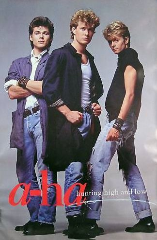 "a-ha ""Hunting High And Low"""