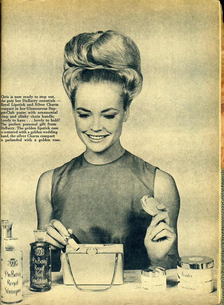 Beauty is a thing of the past: 1960's