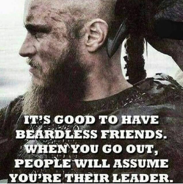 Beard Represent Power and Authority - Beard quotes from Beardoholic.com
