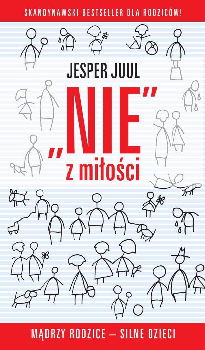 """W książce """"Nie z miłości. Mądrzy rodzice - silne dzieci"""" Jesper Juul, europejski autorytet w dziedzinie wychowania, wyjaśnia, na czym polega właściwa sztuka mówienia NIE. Pokazuje, że konfrontacja z odmową i sprzeciwem to jeden z warunków rozwoju silnych i świadomych swojej wartości dzieci."""