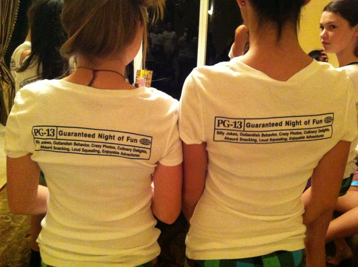 Pg 13 Party Girl Slumber T Shirts Printed By