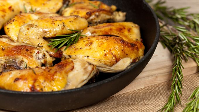 EatZi's Summer Picnic Menu // Roasted Rosemary Chicken