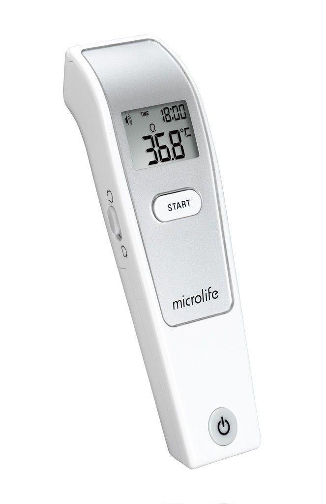 Termometr bezkontaktowy Microlife biały
