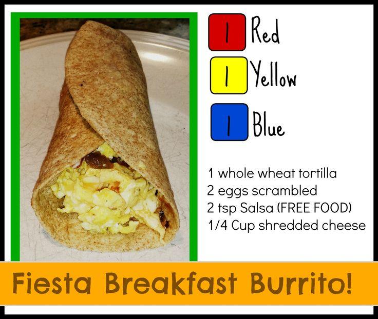 21 day fix, meals, snacks, Burrito, breakfast