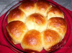 Receita de pão preparado com leite condensado