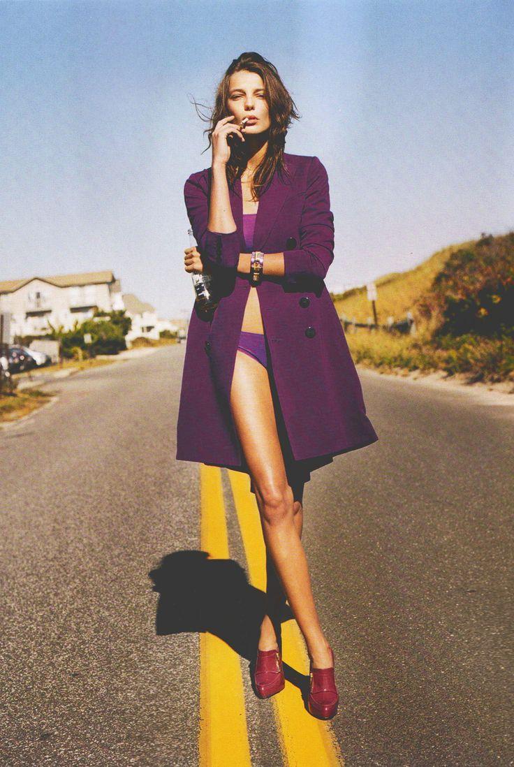 humanmannequin-:      Daria Werbowy/Numero#88 November 2007    LEG GOALS