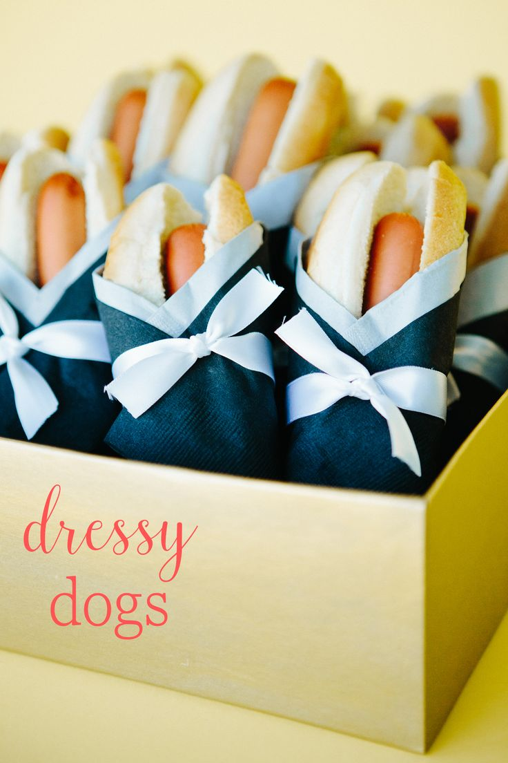 Birthday gift bags 5 cooking for oscar - Dressy Haute Dogs For Your Kids Oscar Party