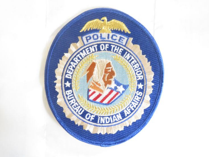 Police department of the interior bureau of indian affairs for Bureau of indian affairs