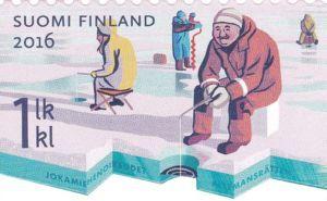 Stamp: Fishing (Finland) (Everyman's right) Mi:FI 2456