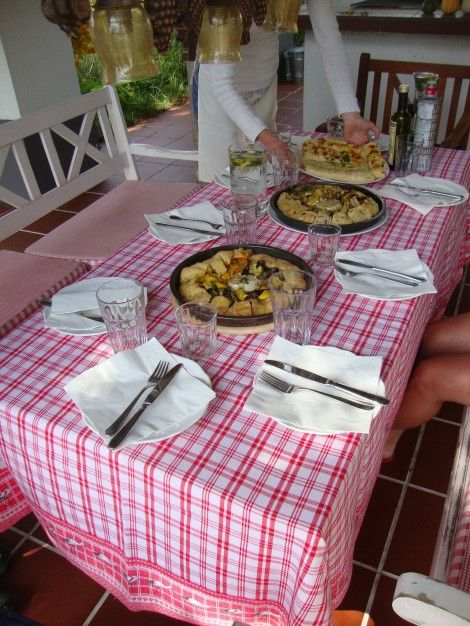 Cooking workshops in August 2013 - Taste of summer