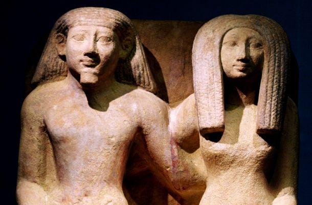 Statue antico Egitto