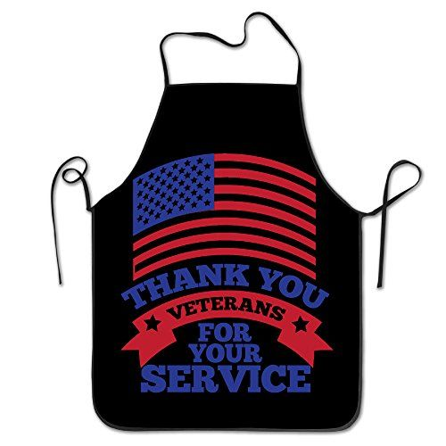 Funny Veterans Day Thank You For Your Service Kitchen Cooking Apron