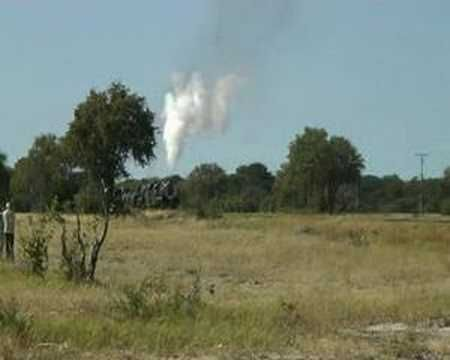 2 x 25NC 4-8-4's somewhere north of Bulawayo