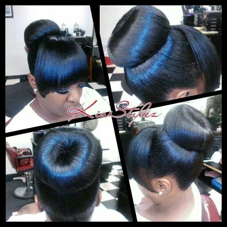 donut hair style 32 best ponytails with bangs images on 1153