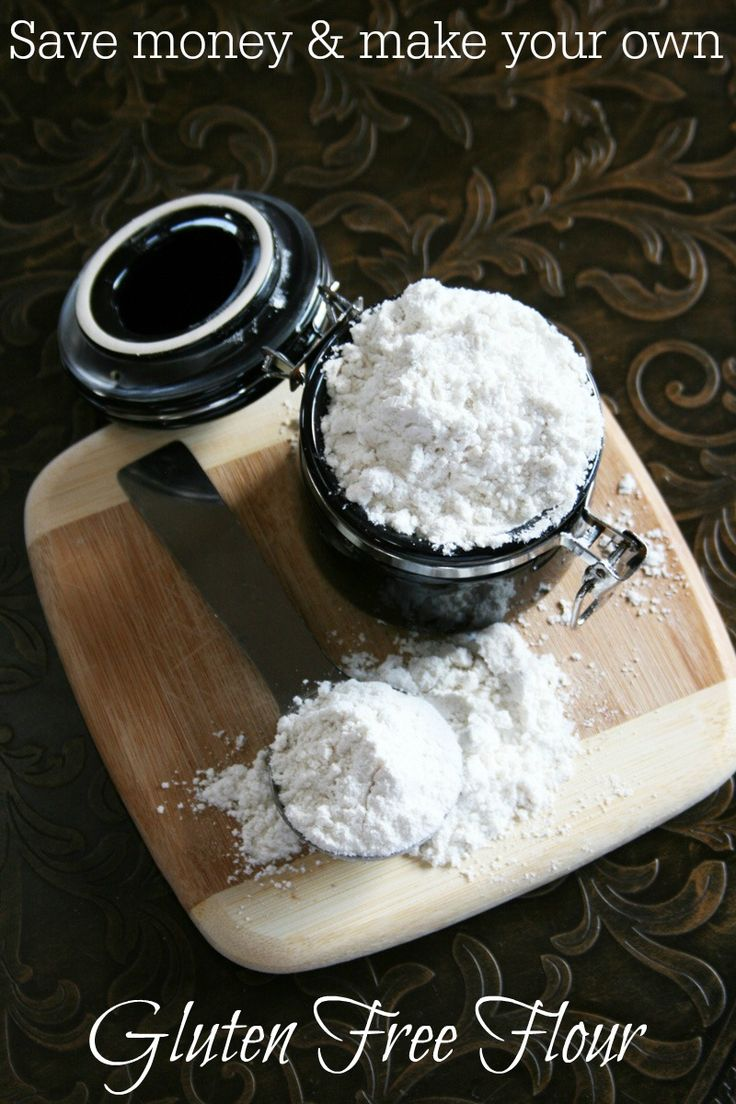 Save a ton of money by making this great all purpose gluten free flour mix. Perfect for cakes, muffins, cookies and quick breads.    #glutenfree #glutenfreeflour #glutenfreebaking