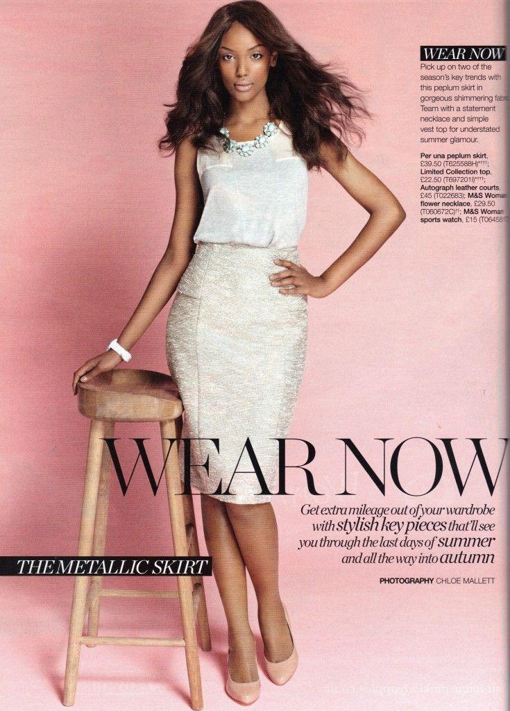 Israela Avtau For Marks And Spencer Magazine High Street Chic Black Beauty In The Media