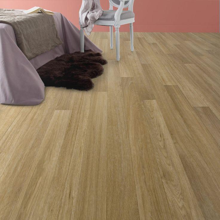 Sol PVC marron classic natural oak Aero l.4 m | Leroy Merlin