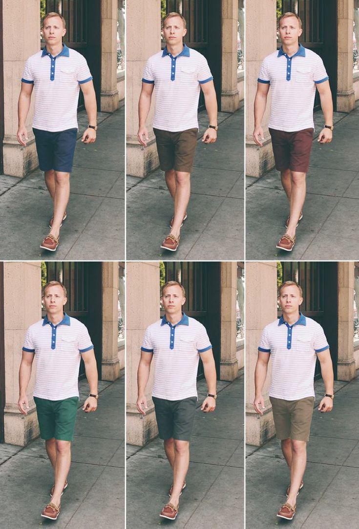 Guía competa para llevar pantalones cortos hombre