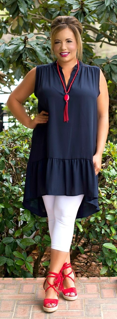 Sheer Delight Tunic - Navy ***FINAL SALE*** - Perfectly Priscilla Boutique