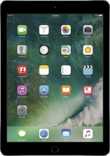 Apple iPad Air 2 WiFi 128GB Space Gray Front Zoom