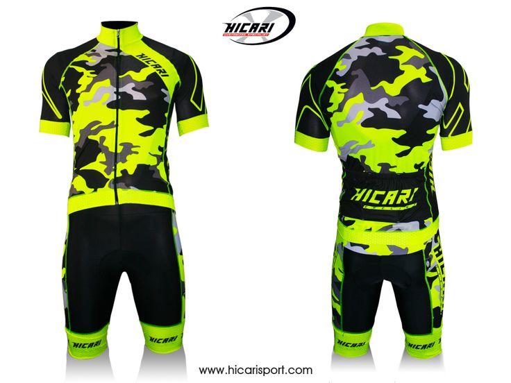 #Camouflage giallo fluo 2015 @HicariSport