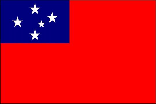 Independence of Samoa's Flag