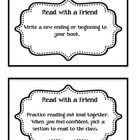 These Reading Task Cards are perfect for students to use while reading. They can use these cards independently, in partners, as a group, or even wh...