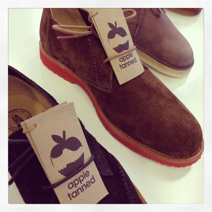 Apple tanned Clarks suede brogues!