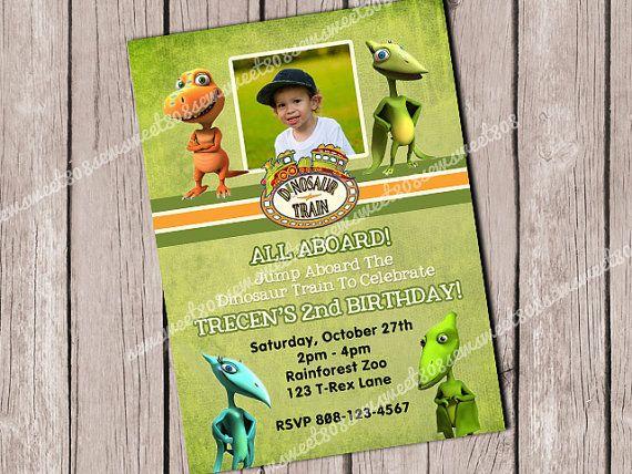 28 best dinosaurs images on pinterest | dinosaur party, the good, Birthday invitations