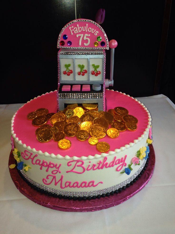 Slot Machine Jackpot Cake