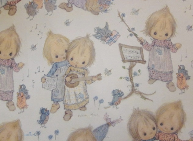 Vintage Betsey Clark Wrapping Paper . . . memories of Val <3