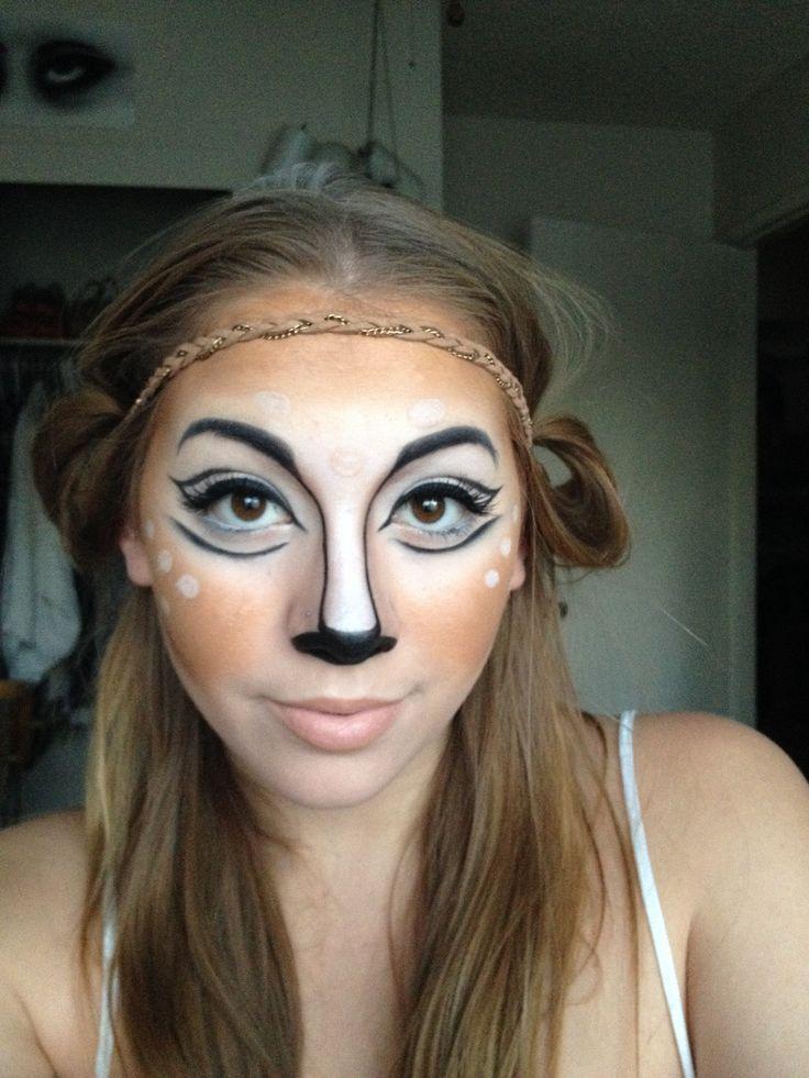 Makeup Ideas » Deer Makeup For Halloween - Beautiful Makeup Ideas ...