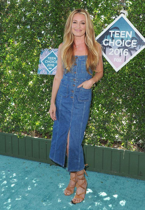 Cat Deeley arrives at the Teen Choice Awards 2016