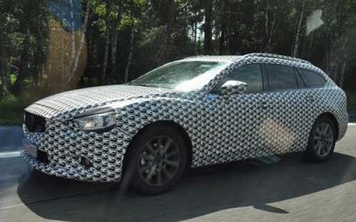 The all-new Mazda 6 in preparation for some time, and now appeared the first spy photos estate version, which will premiere at the Moscow Motor Show in late August. Wagon will debut before the saloon, and announced that the car in terms of design will be very similar to the concept Tucker, although recordings kamufliranog vehicle does no