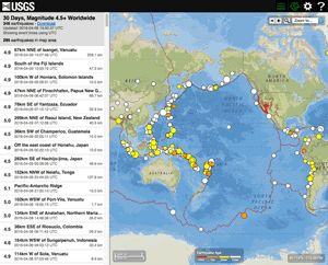 Best 25 latest earthquakes ideas on pinterest usgs latest map of latest earthquakes gumiabroncs Image collections