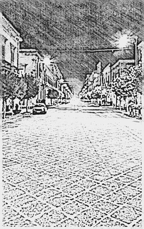 Corso Umberto I di notte
