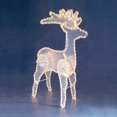 3D Reindeer LED Light, 43€, now featured on Fab.
