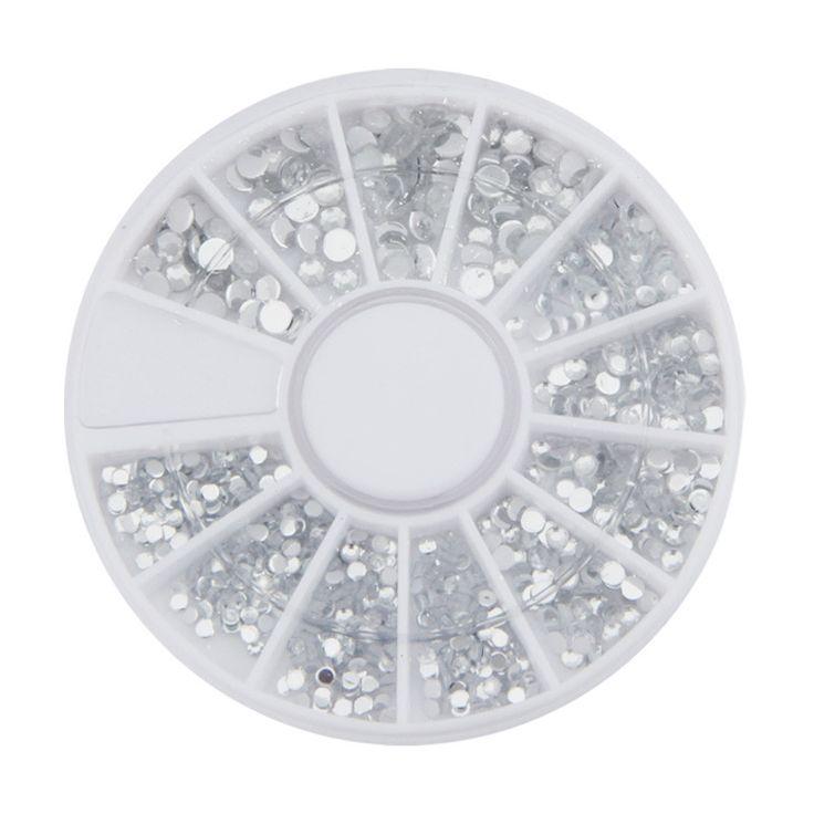 500pcs/Box Acrylic Diamond 1.5-3 mm Nail Art Decorations g6708