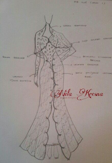 Karena setiap karya memiliki jiwa maka tugas kita adalah memberinya suatu nyawa  Sketch for miss Ulvi's akad  #sketch #nilakresna #kanayakebaya #kebaya #jahitkebaya #designer #fashiondesign #fashiondesigner #designerkebaya #indonesia #surabaya