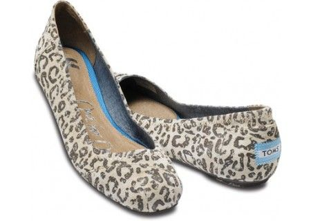 Toms Gisele Leopard Ballet Flats ($90) Found by Calgary Fashion