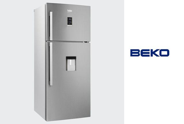 FRIGO BEKO DN156720DX INOX NF -- 679 € 185x74 A+ Inox Antihuella, Display temperaturas http://www.materialdirecto.es/es/frigorificos-dos-puertas/39603-beko-frigorifico-dn156720dx-.html