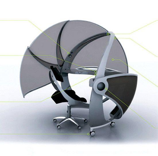 Ergonomic Office Furniture Futuristic Design